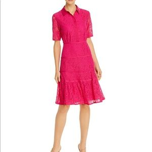 NANETTE LEPORE Lace Shirt Dress
